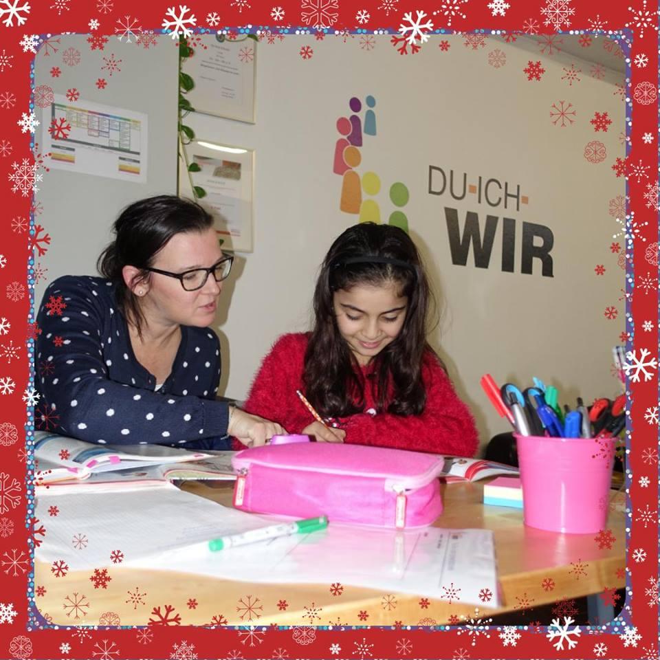 Weihnachtliches Lernen