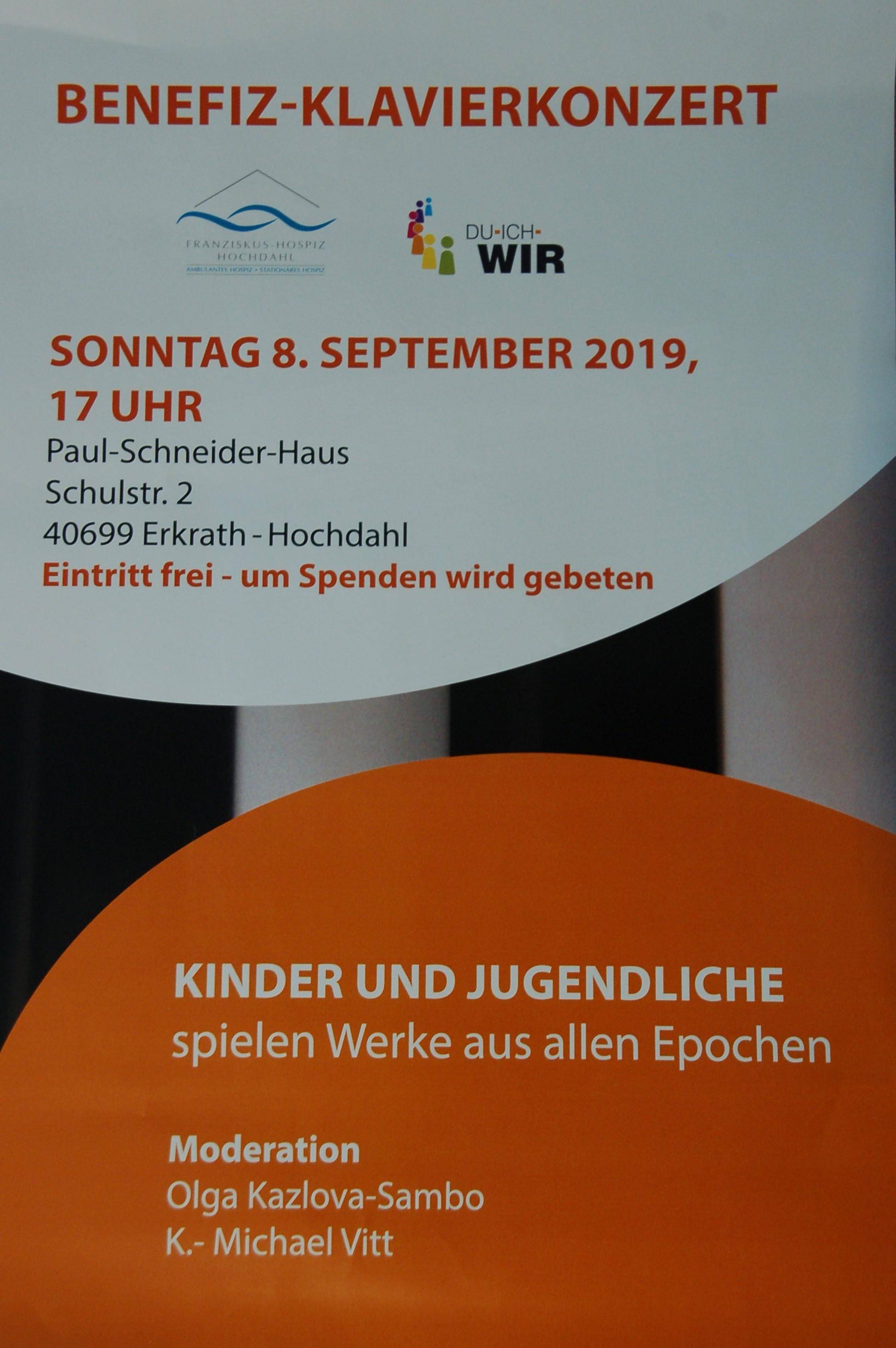 Benefiz-Klavierkonzert 2019